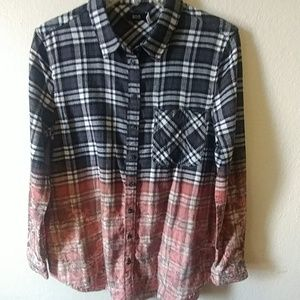 BGD flannel top